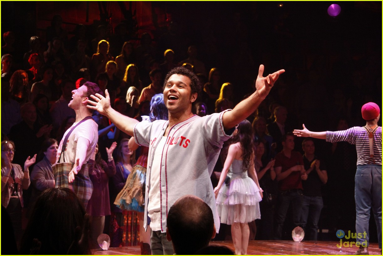 corbin bleu godspell opening night 03