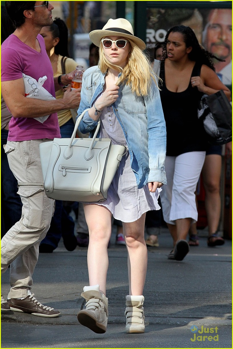 dakota fanning tribeca judge 08