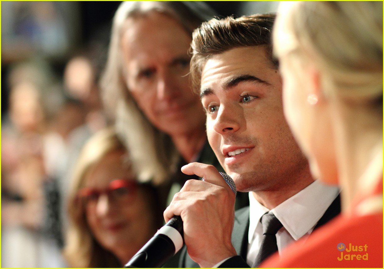 zac efron lucky one adelaide premiere 16