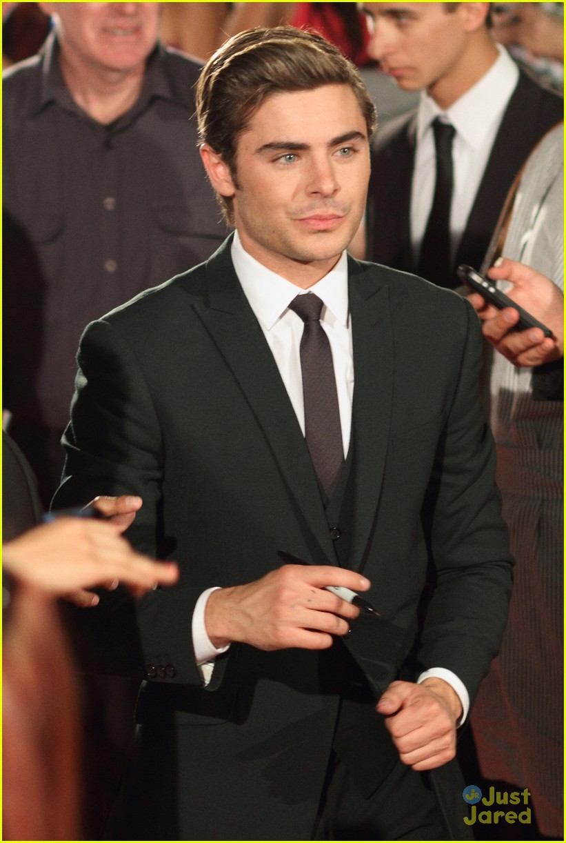 zac efron lucky one adelaide premiere 17