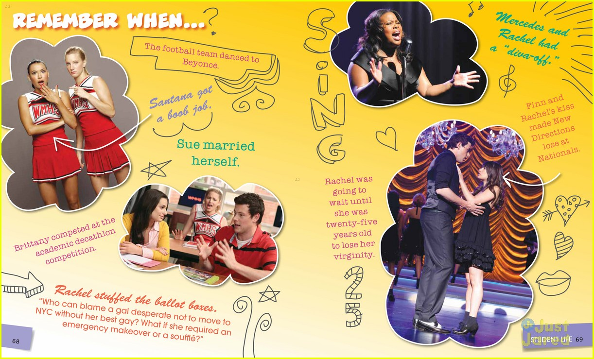 glee mckinley yearbook exclusive 05