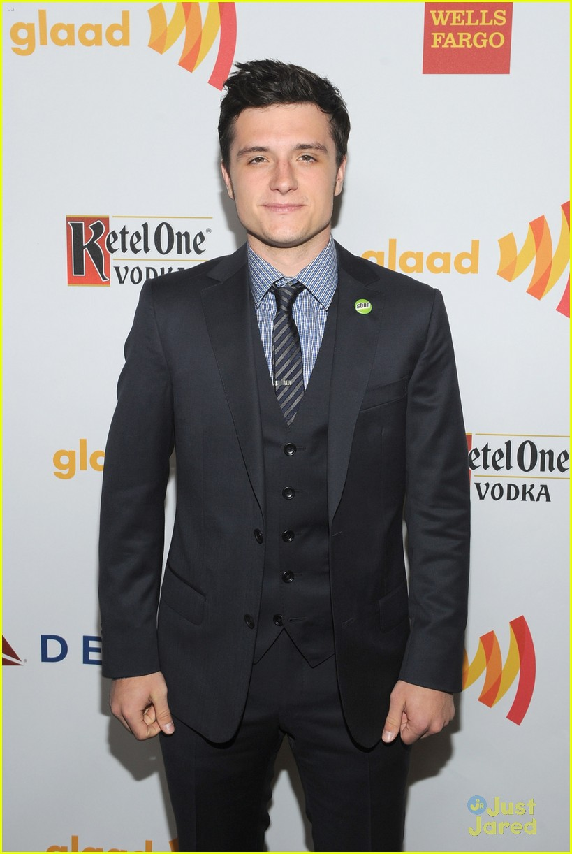 josh hutcherson glaad media awards 05