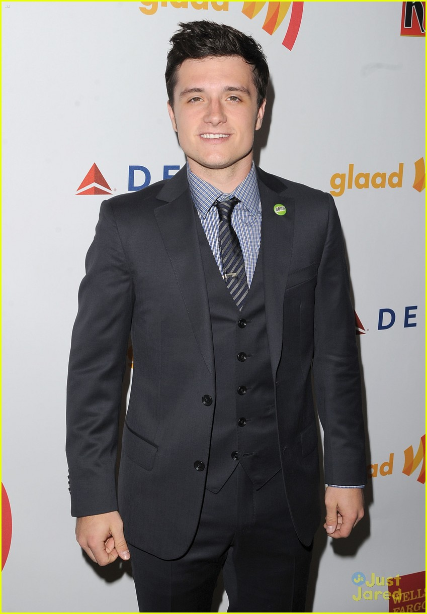 josh hutcherson glaad media awards 07