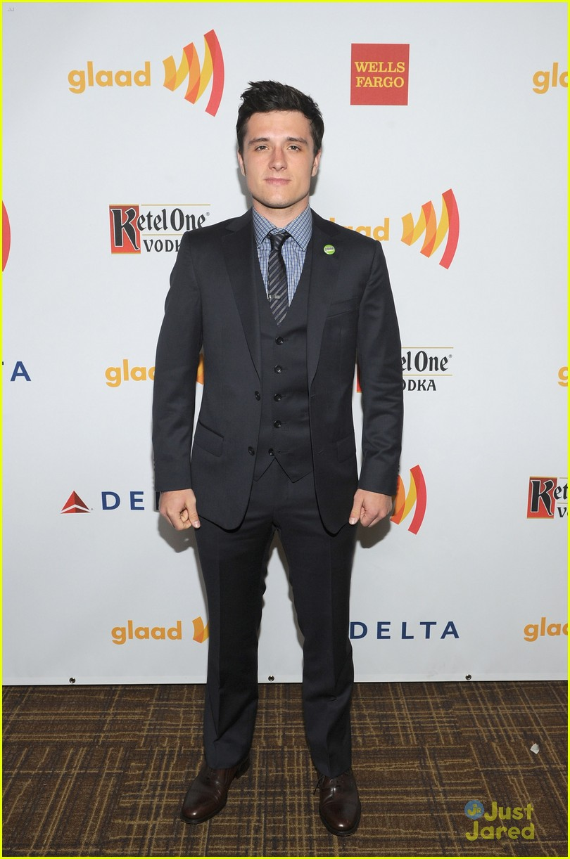 josh hutcherson glaad media awards 08