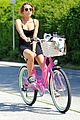 Miley-bike miley cyrus pilates bike ride 01