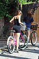 Miley-bike miley cyrus pilates bike ride 14