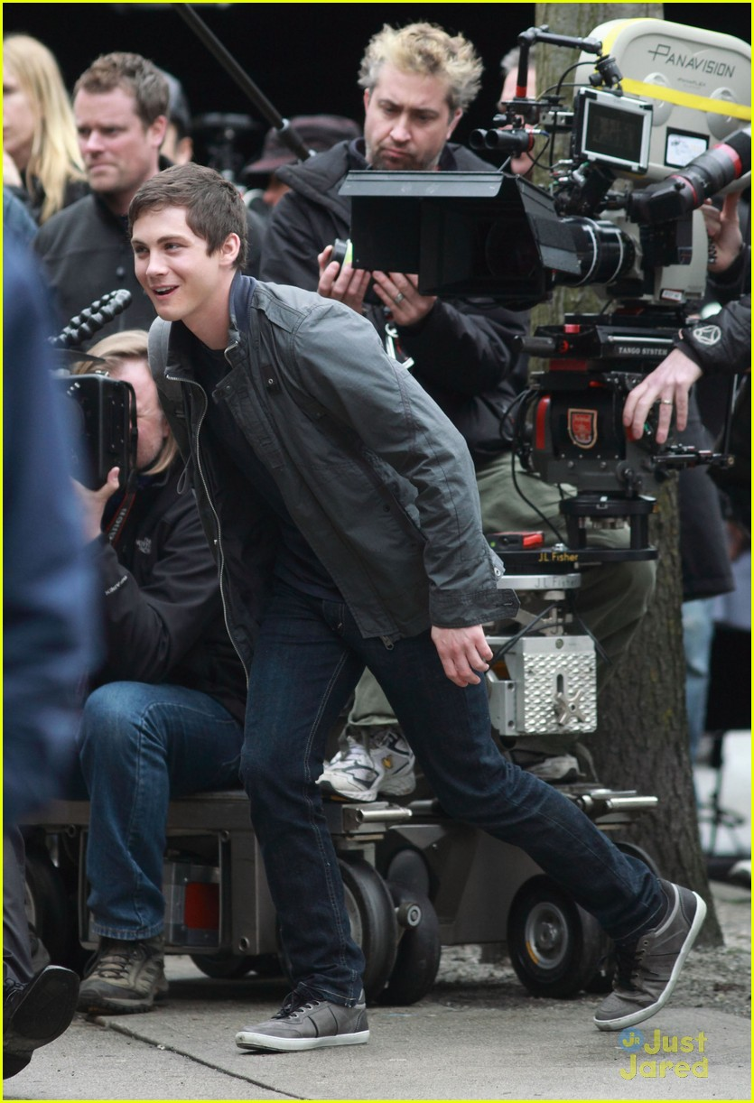 logan brandon pjo filming 10