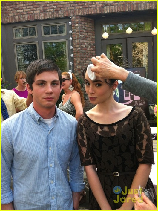 lily collins logan alex writers set 02
