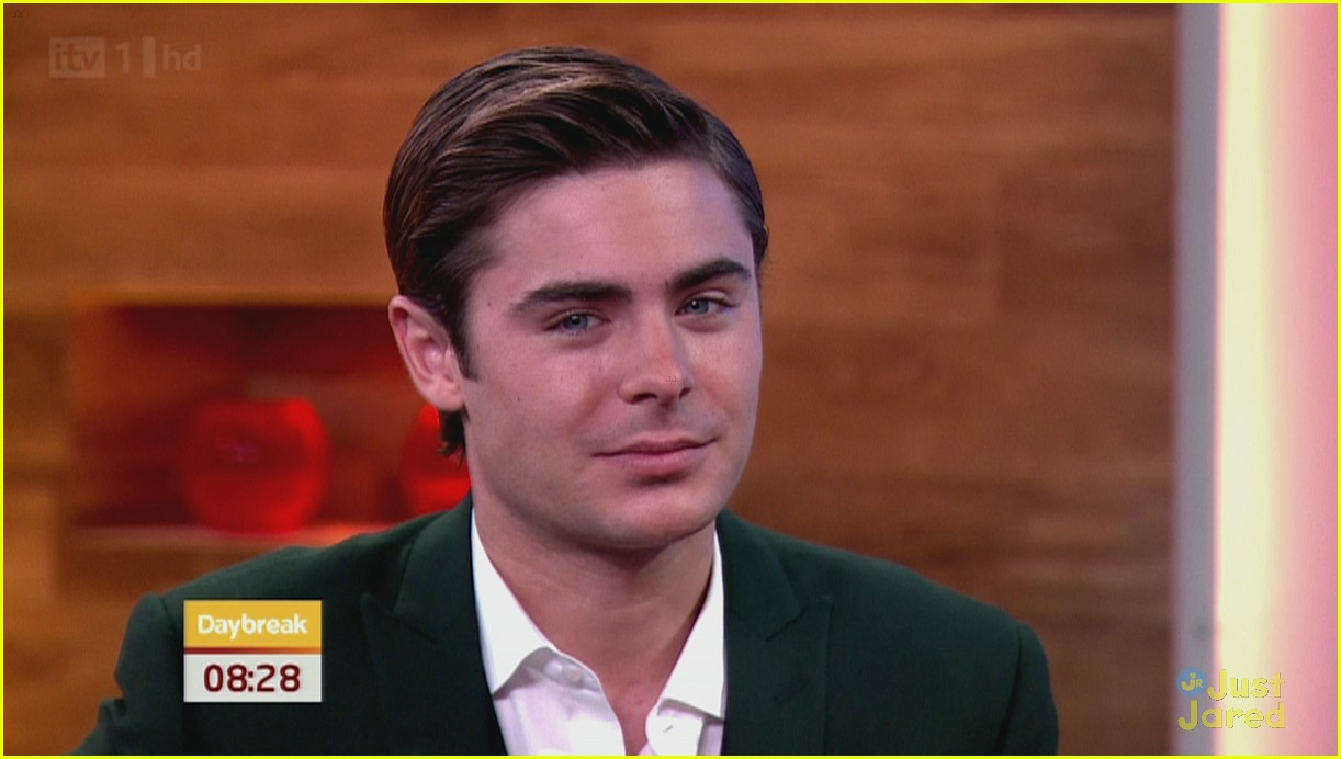 zac efron daybreak london 02