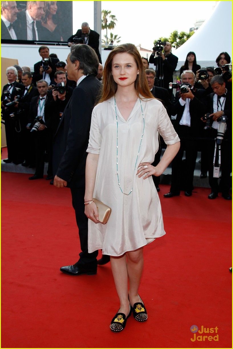 bonnie wright mud premiere cannes 04