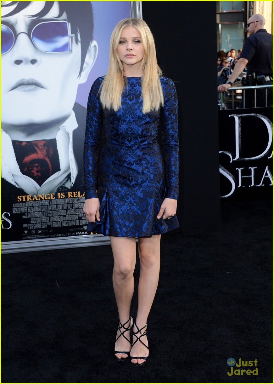 chloe moretz dark shadows premiere 04