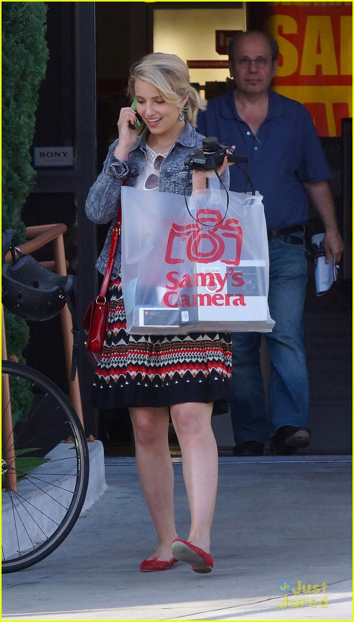 dianna agron samys camera 10