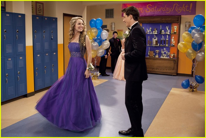 good luck charlie dress shower 05