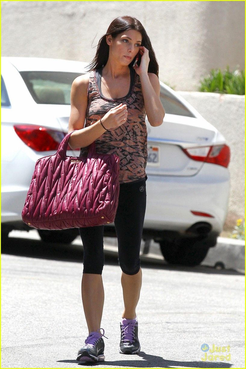 ashley greene wednesday workout 03