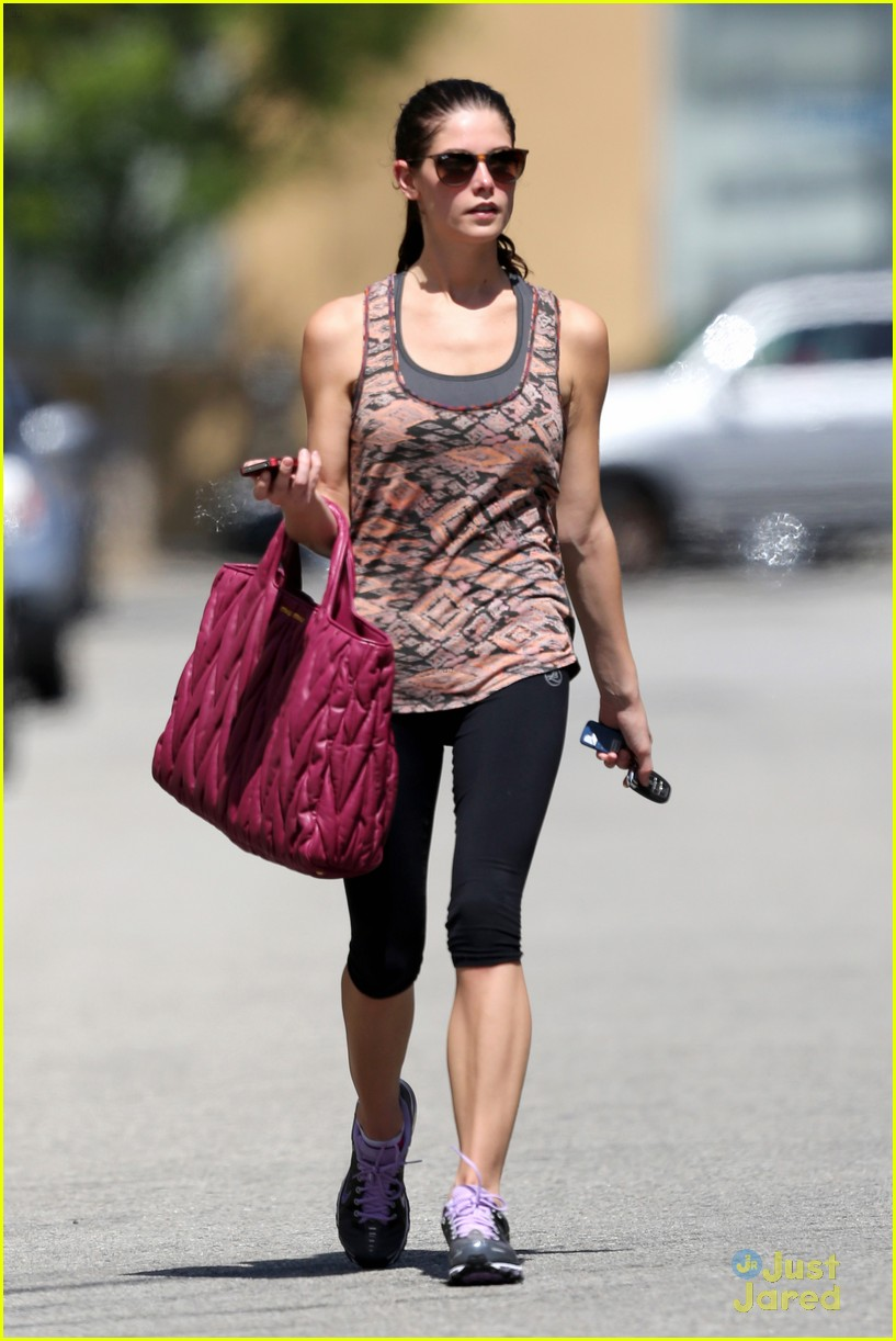 ashley greene wednesday workout 07