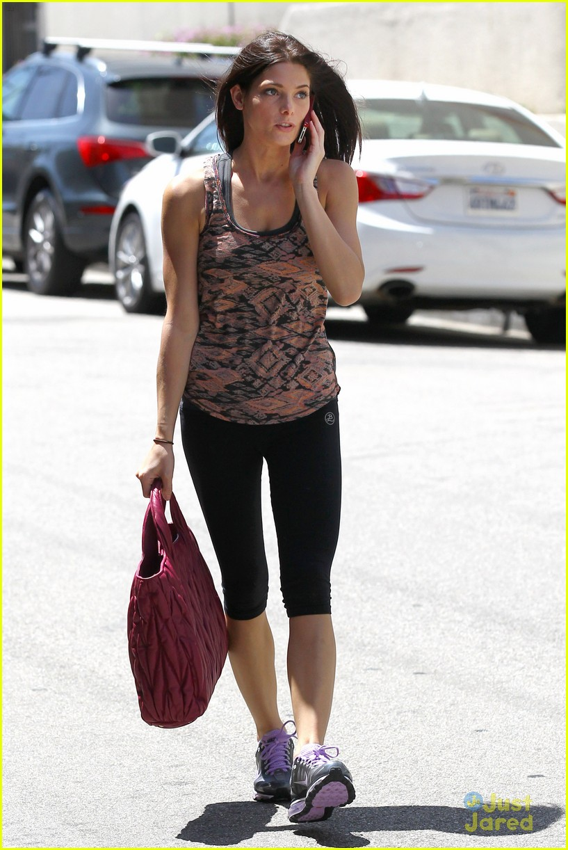 ashley greene wednesday workout 10