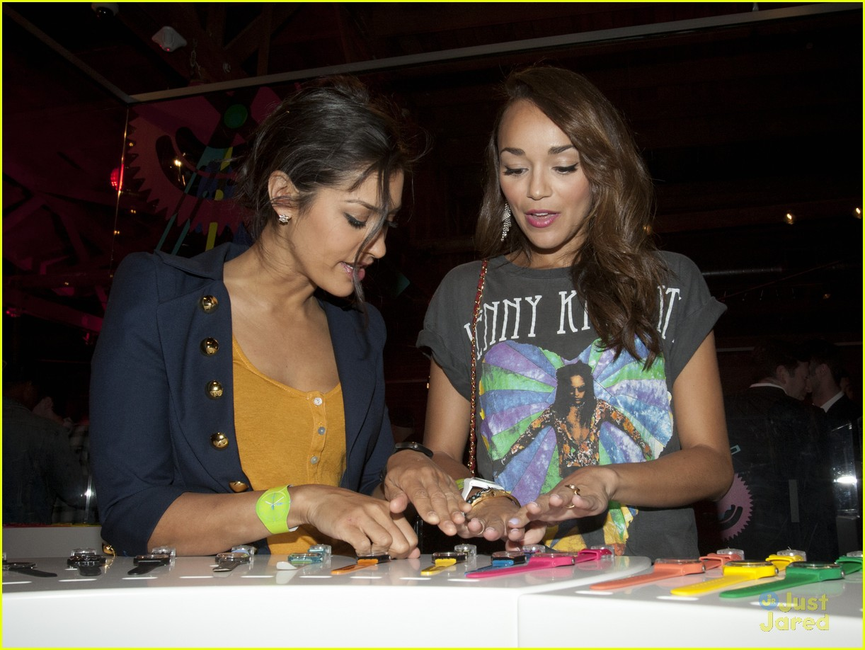 ashley madekwe swatch launch 03