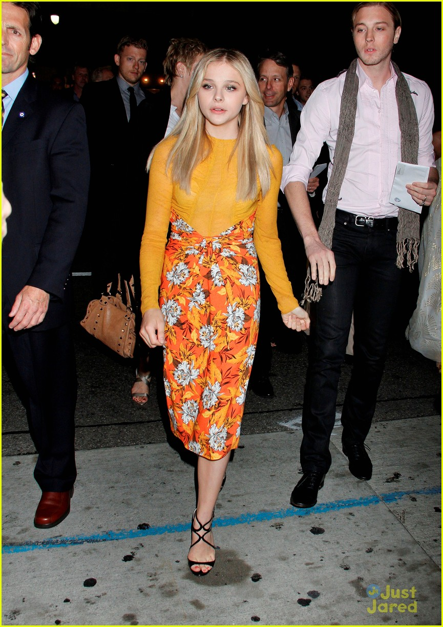 chloe moretz jimmy kimmel live 08