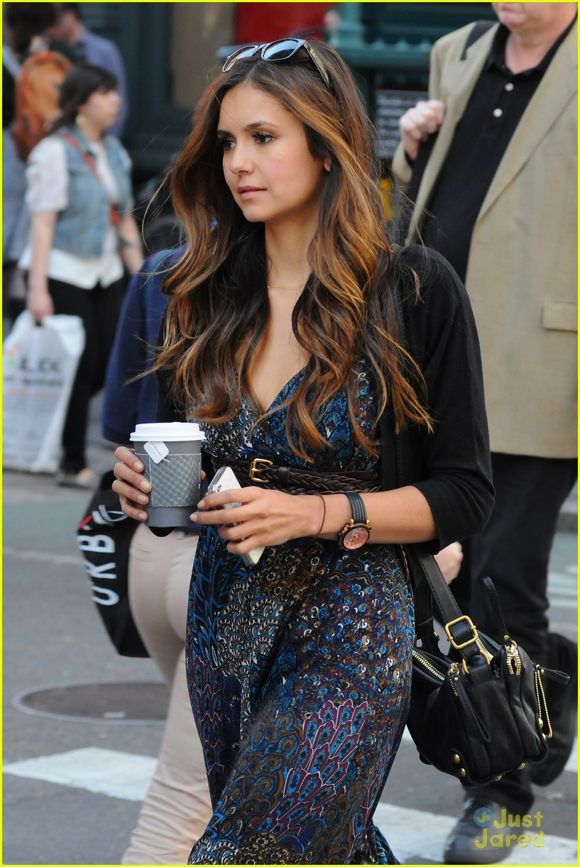 nina dobrev nyc mom 06