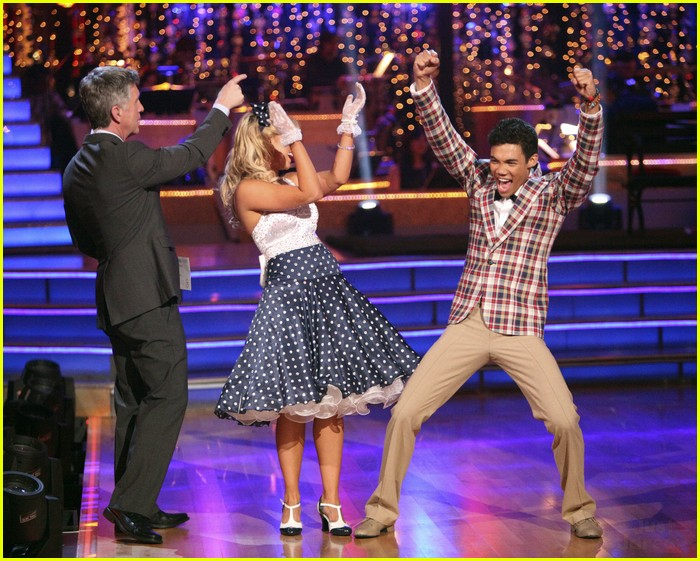 Roshon Fegan &a... Roshon Fegan Dancing With The Stars