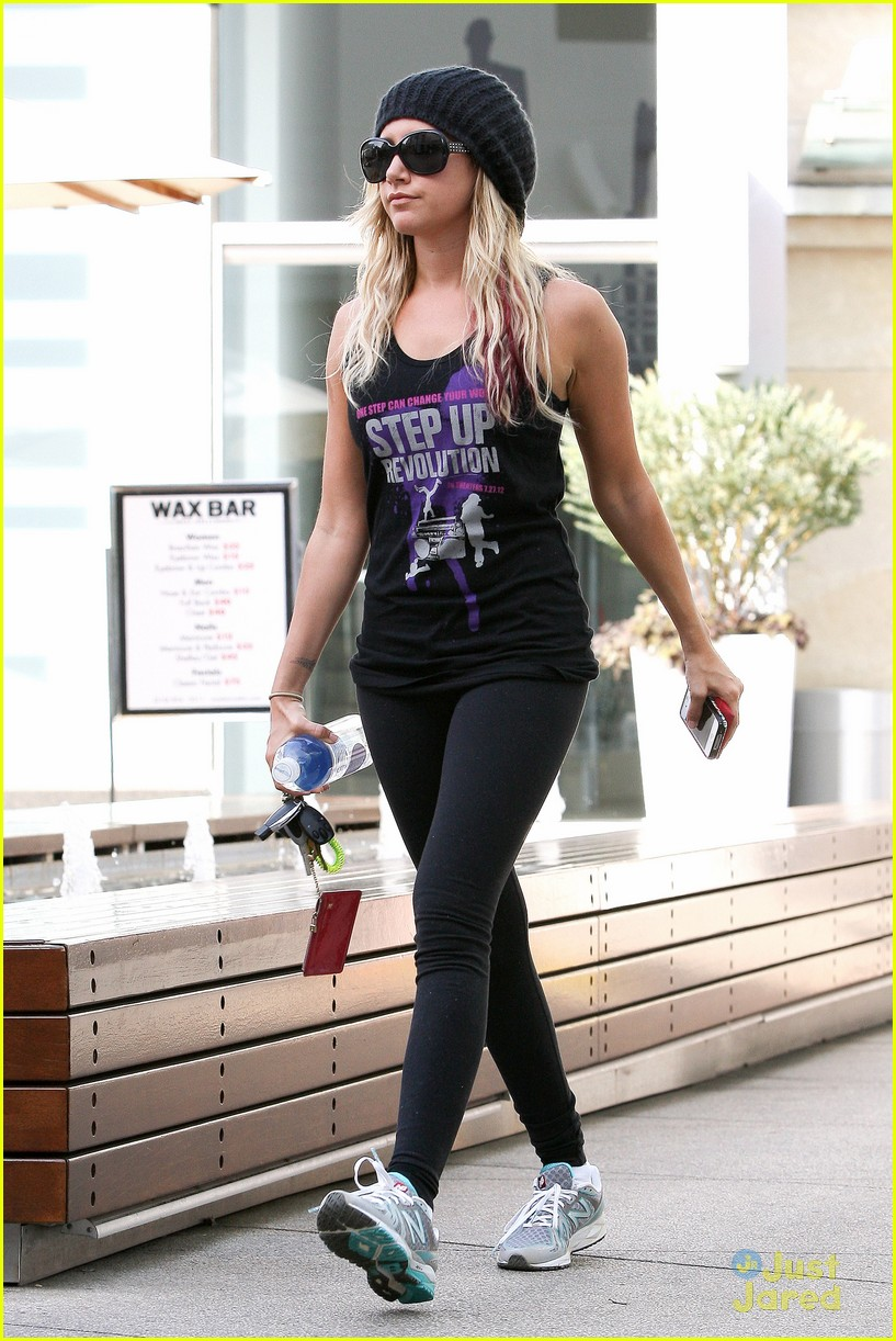 tisdale step up tee 02