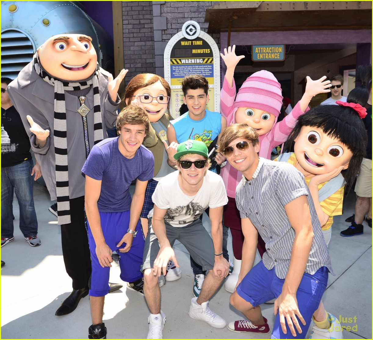 one direction visits uor