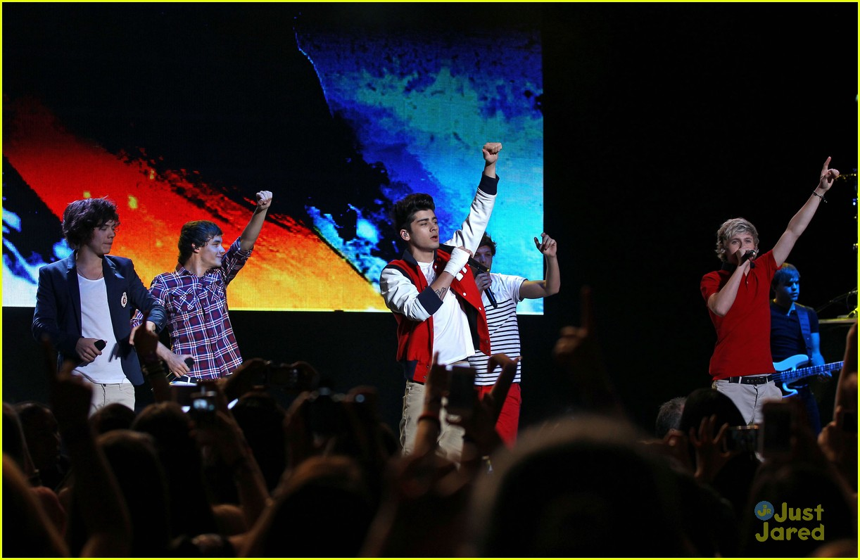 one direction vegas concert 15