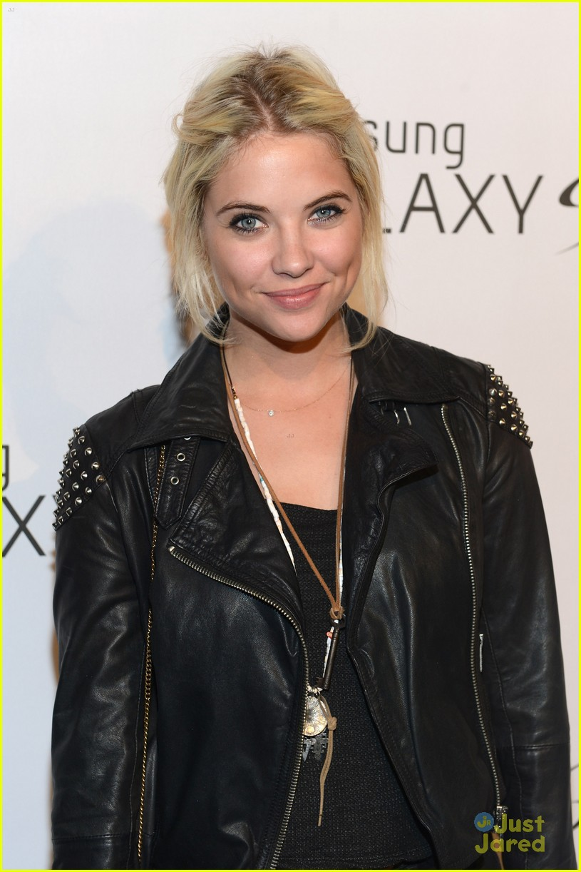 ashley benson samsung launch 06