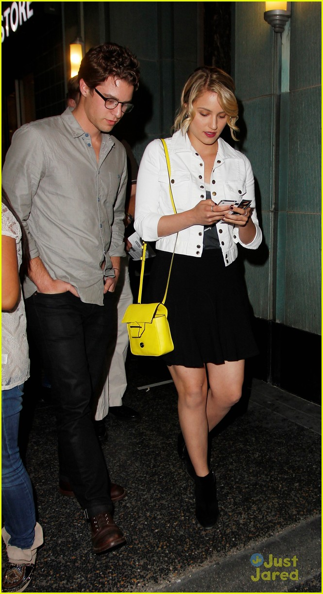 dianna agron jack white concert 09