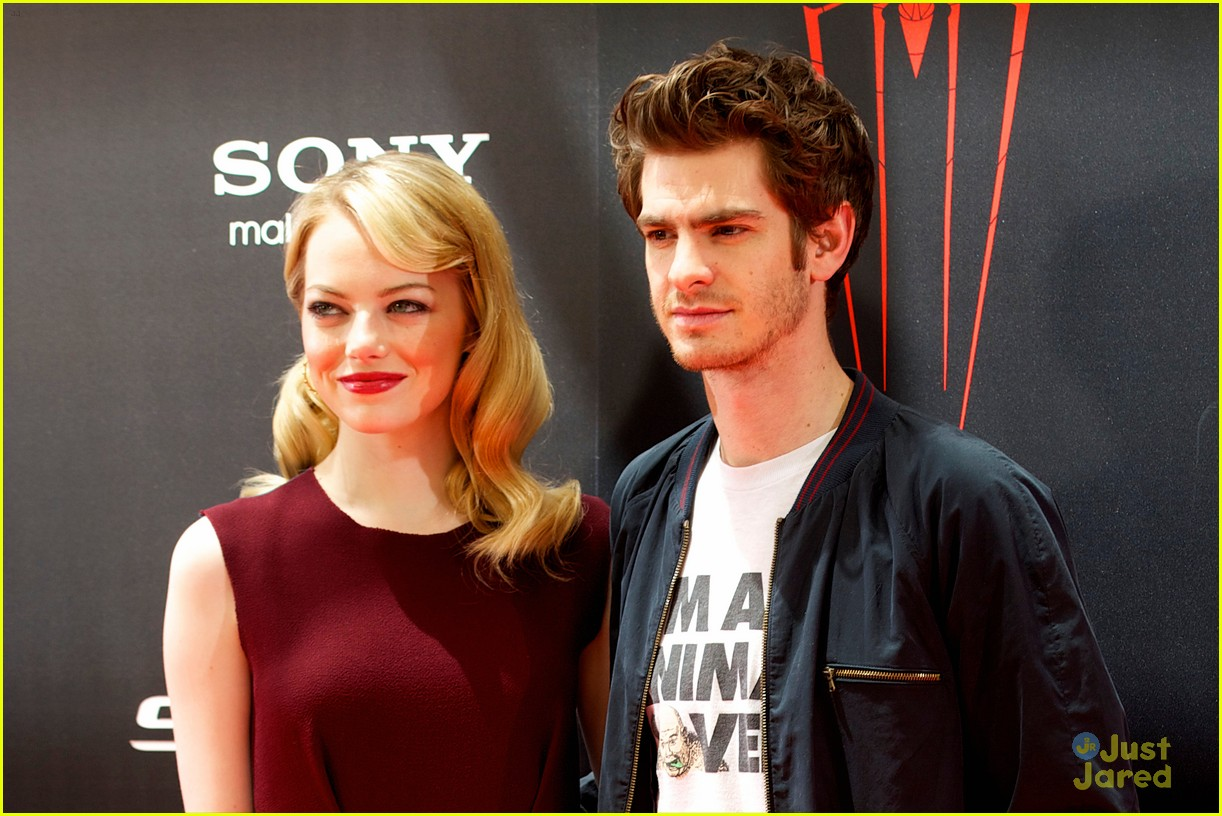 emma stone andrew garfield madrid 02