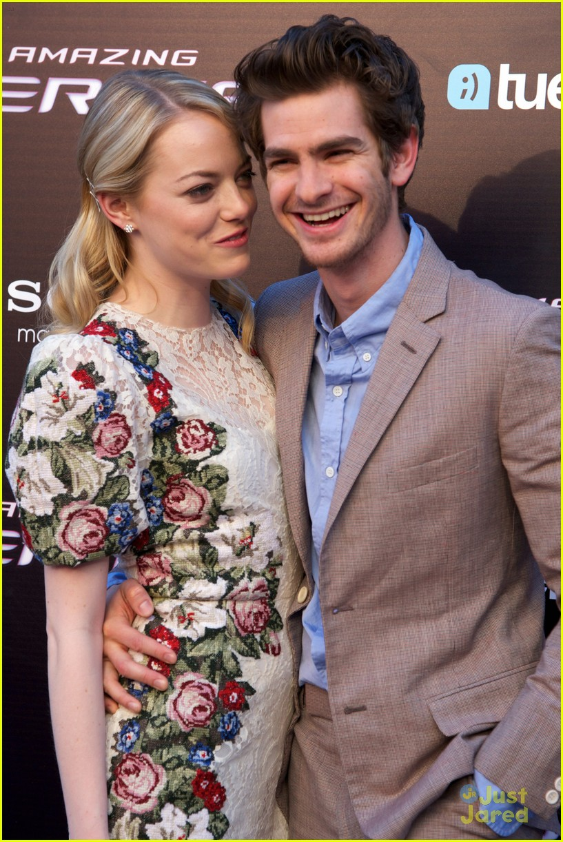 emma stone andrew garfield madrid 05