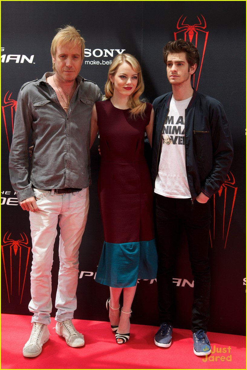 emma stone andrew garfield madrid 33