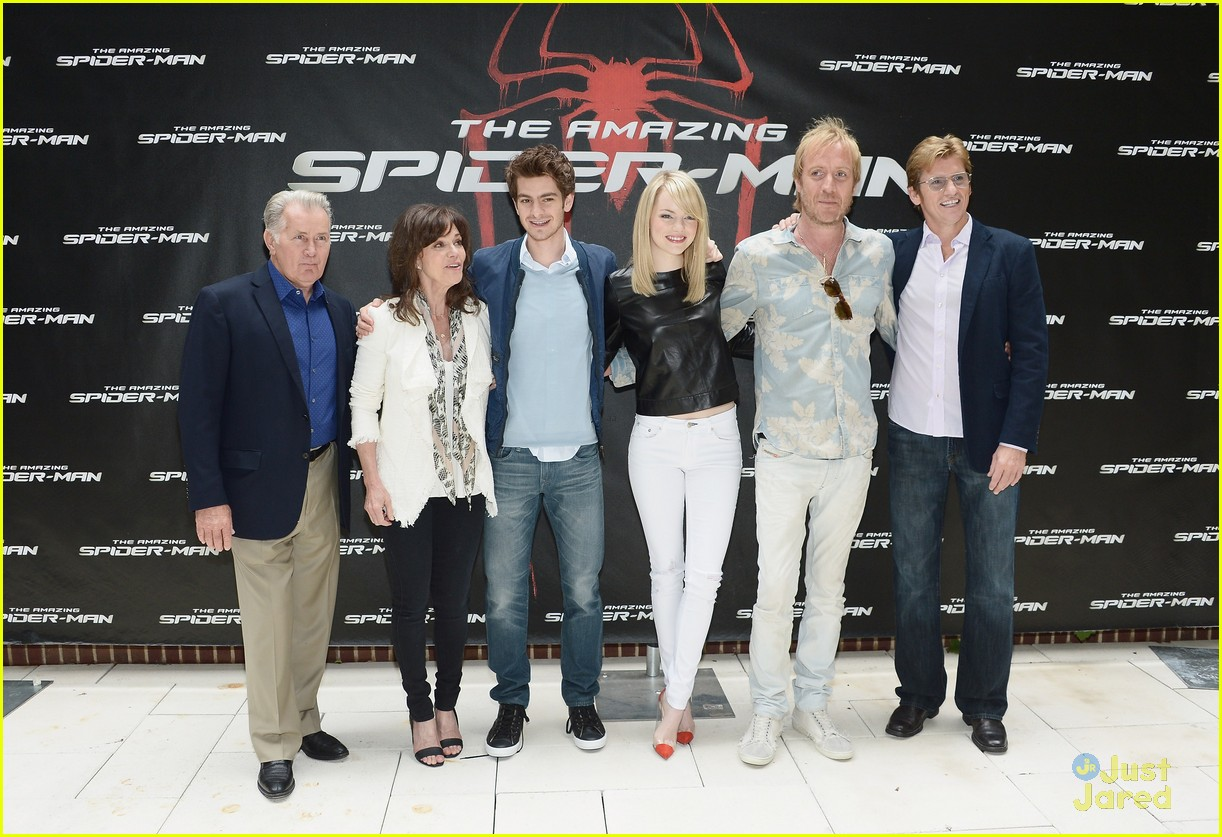 emma stone spiderman photocall 08