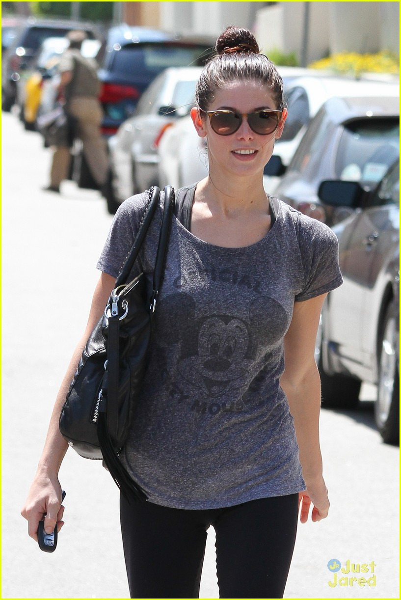 ashley greene mickey club tee 07