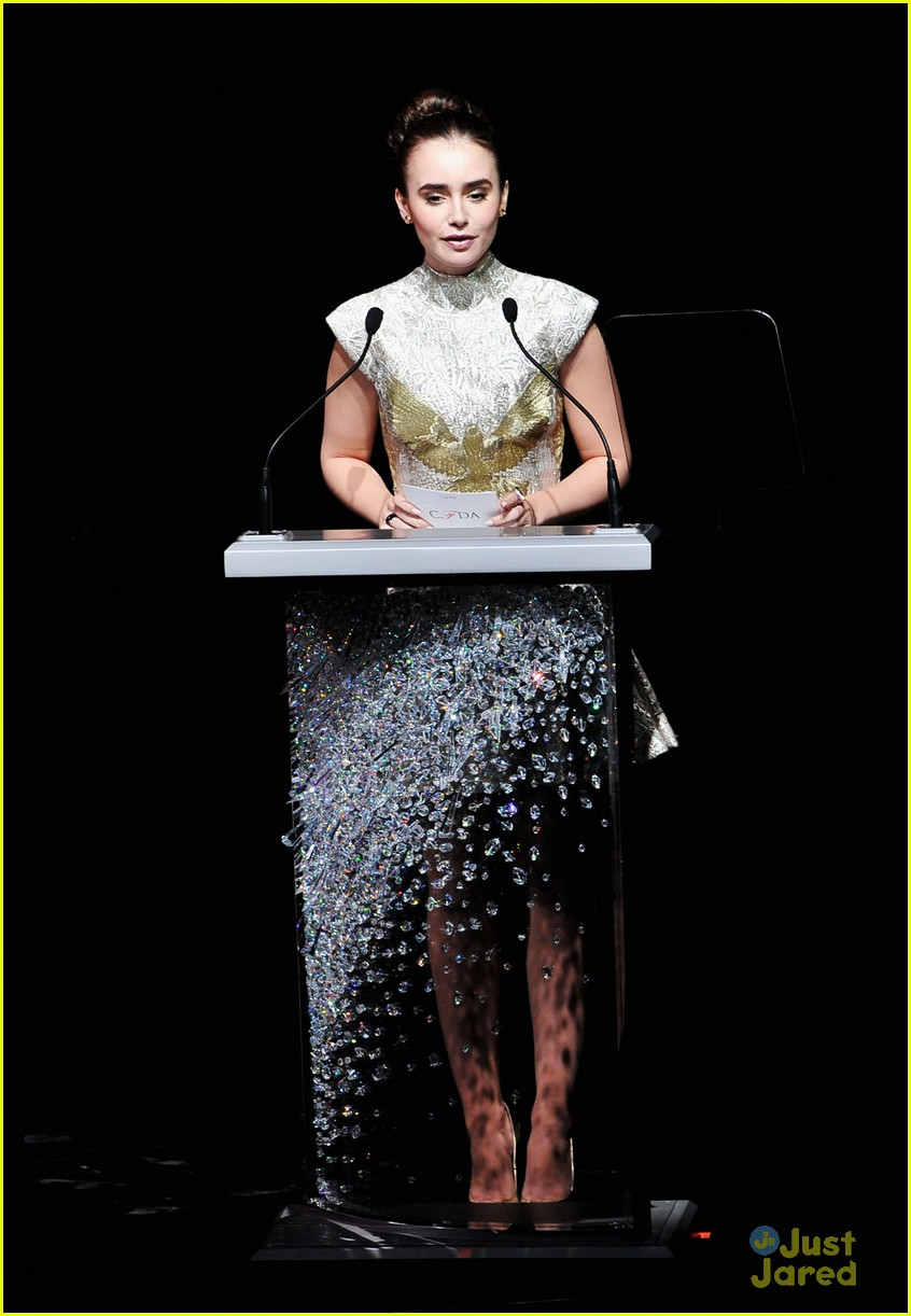 lily collins cfda awards 03