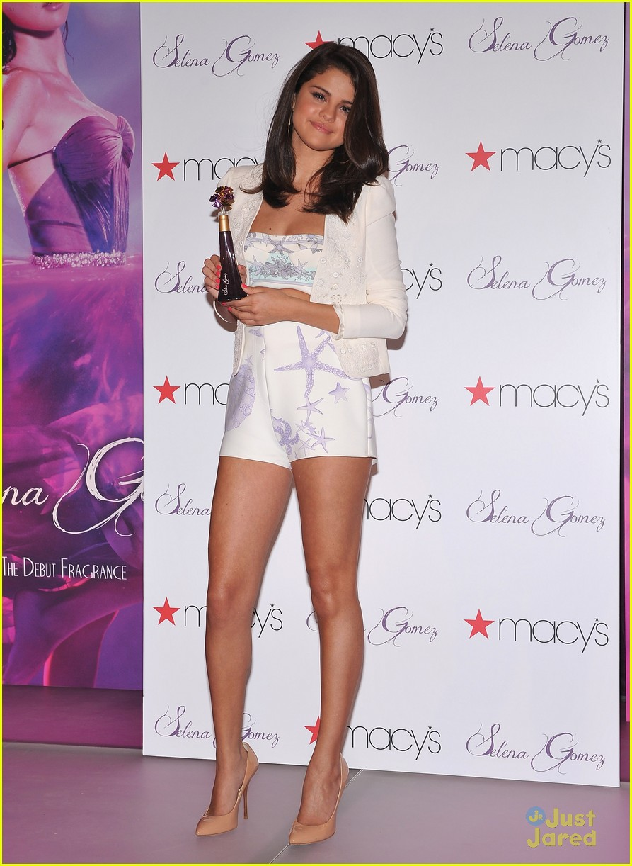 selena gomez macys launch 11