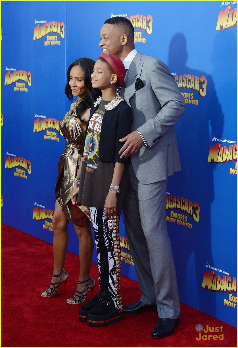 willow smith madagascar 3 premiere 09