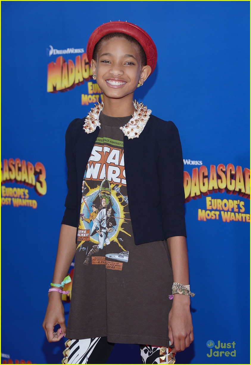 willow smith madagascar 3 premiere 11