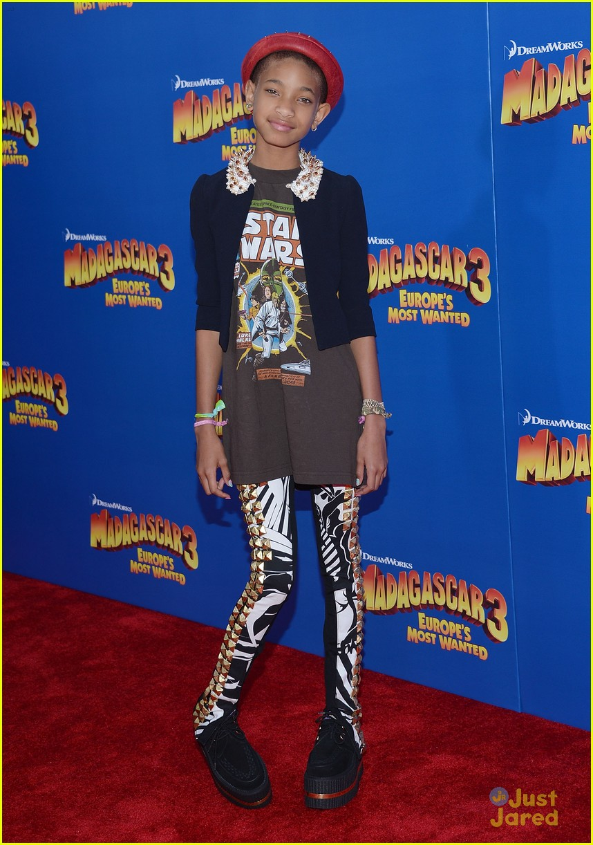 willow smith madagascar 3 premiere 13