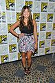 Glee-sdcc lea michele jenna ushkowitz glee sdcc 15