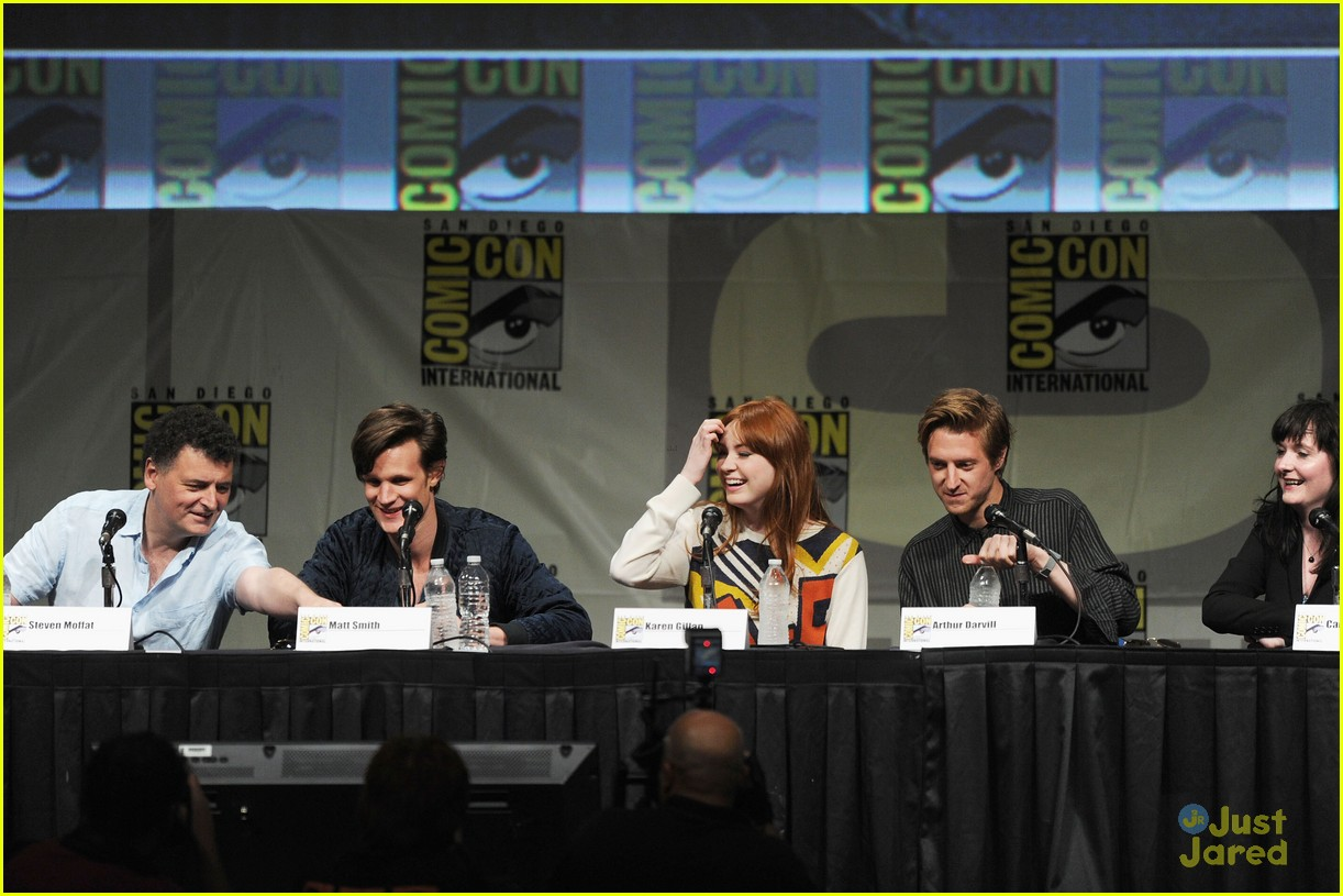 karen gillan doctor who sdcc 10
