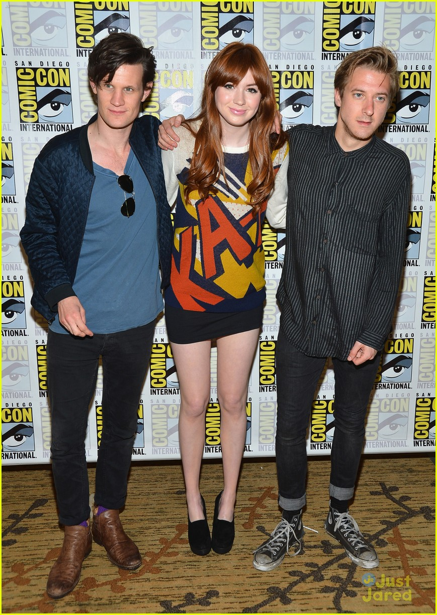 karen gillan doctor who sdcc 15