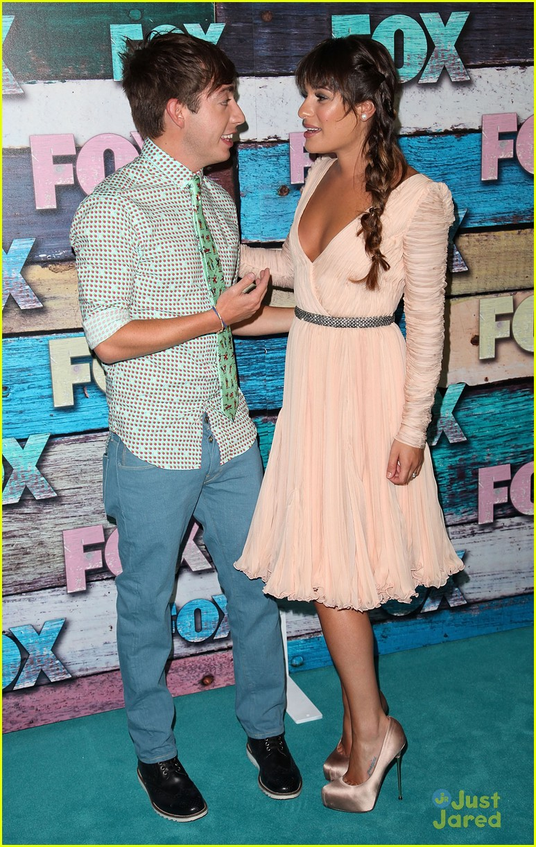 lea michele fox allstar party 11