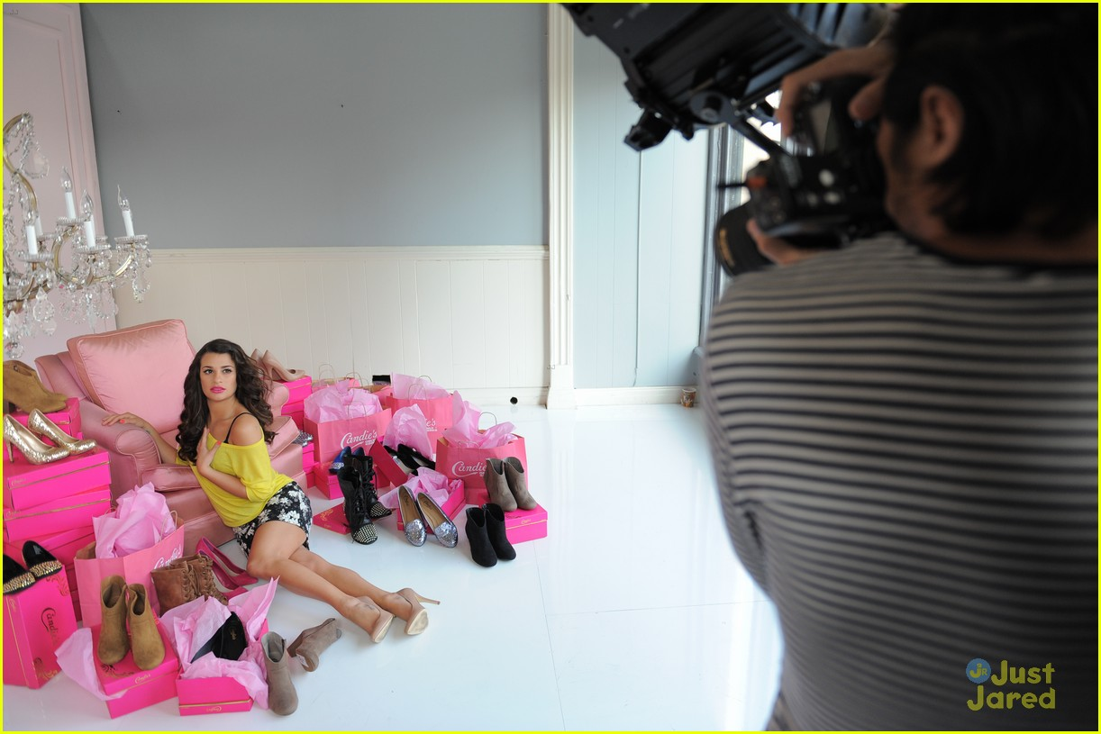 lea michele candies fall campaign 06