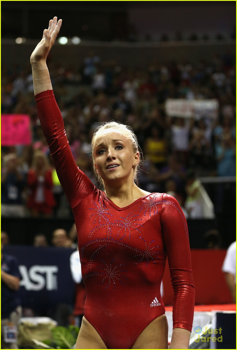 nastia liukin no london olympics 09