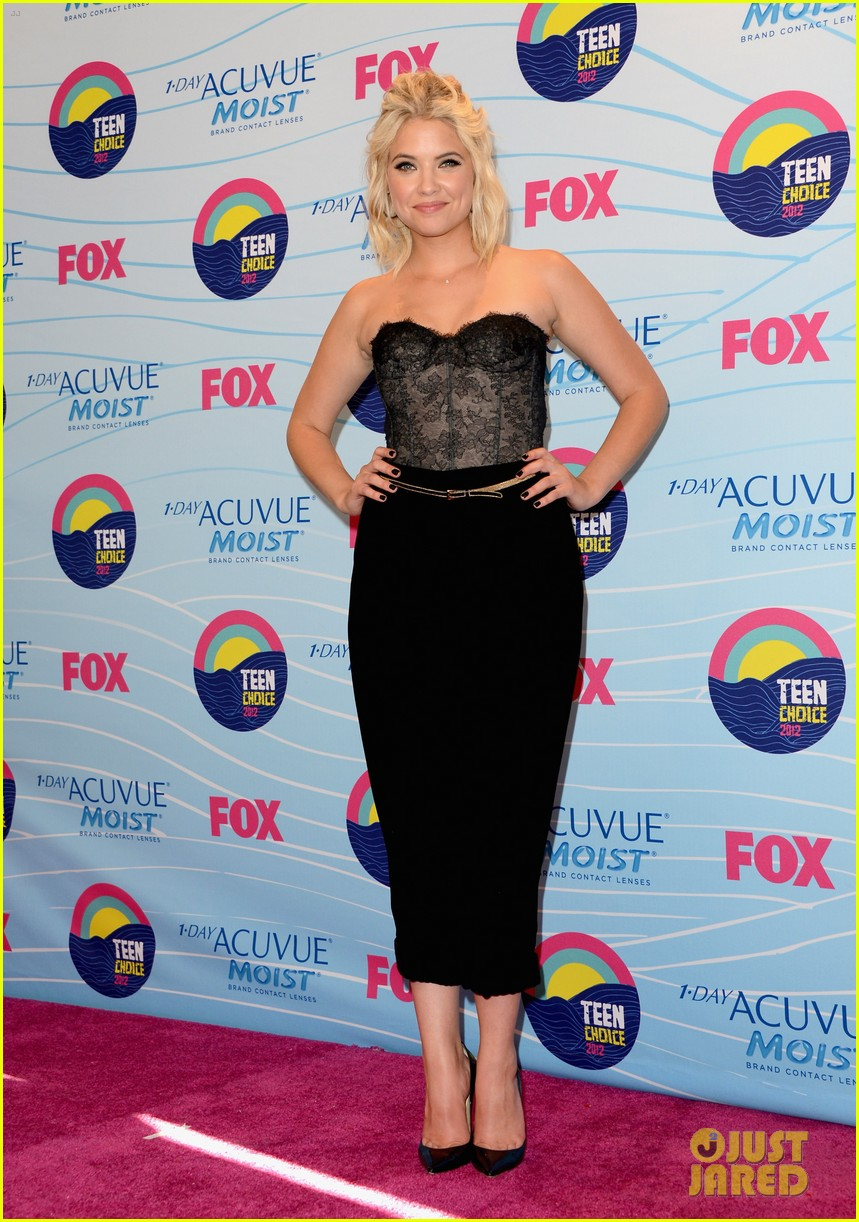 ashley benson teen choice awards 2012 08