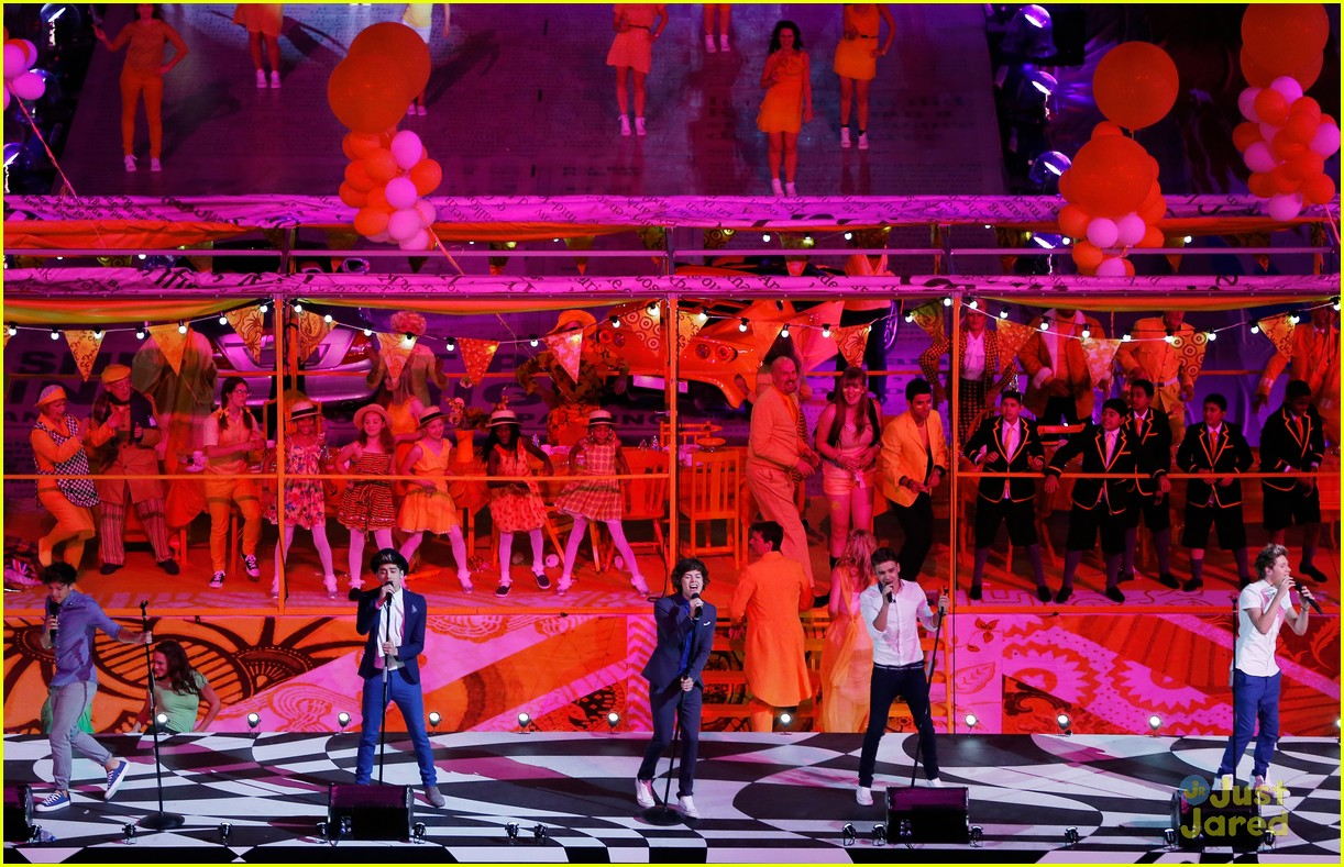 one direction closing olympics 08
