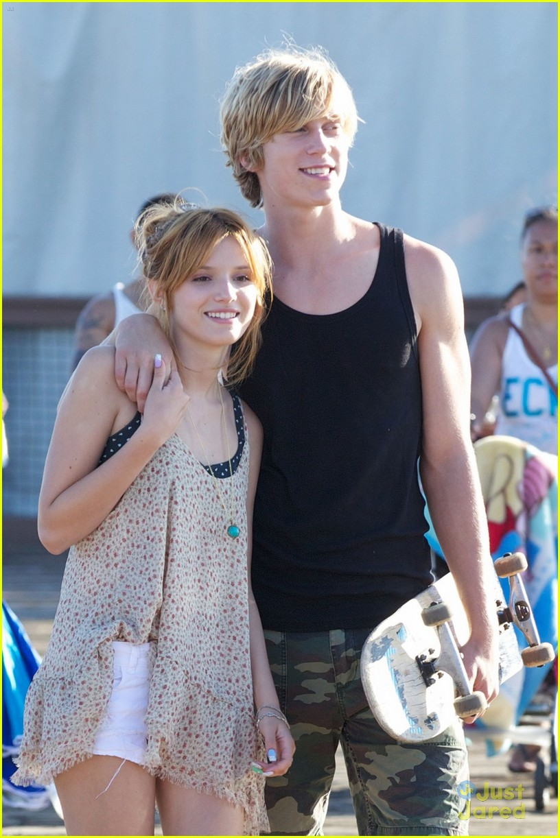 bella thorne tristan pier date 04