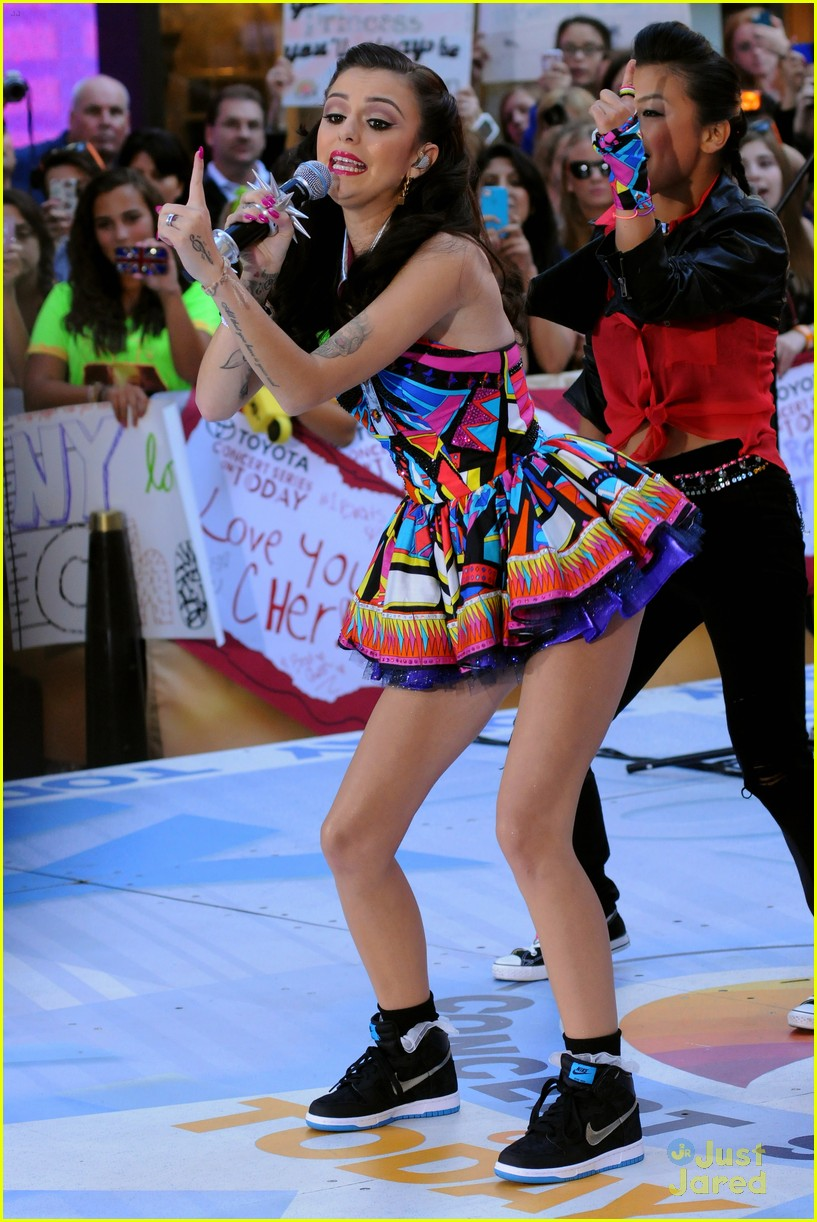cher lloyd today show 01