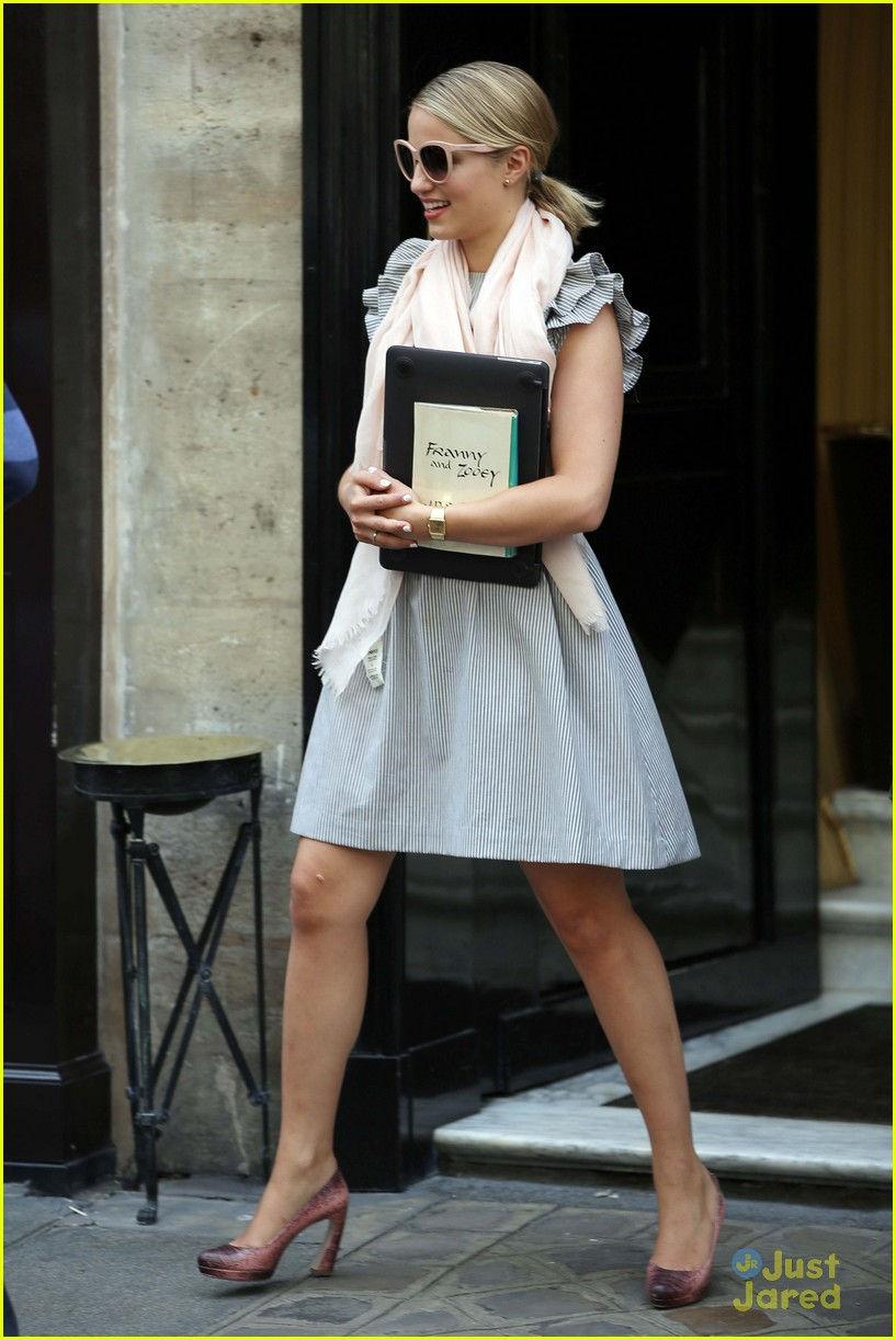 dianna agron paris normandy 10